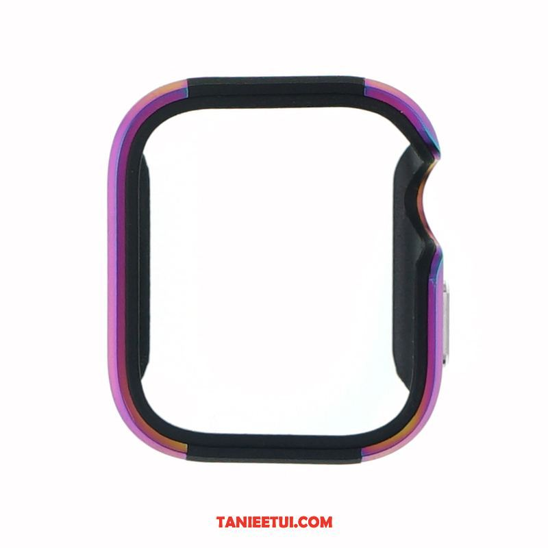 Etui Apple Watch Series 5 Stop Metali Ochraniacz Purpurowy, Obudowa Apple Watch Series 5 Metal