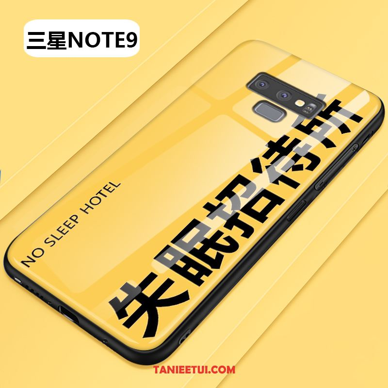 Etui Samsung Galaxy Note 9 Silikonowe All Inclusive Jednolity Kolor, Obudowa Samsung Galaxy Note 9 Proste Gwiazda Anti-fall