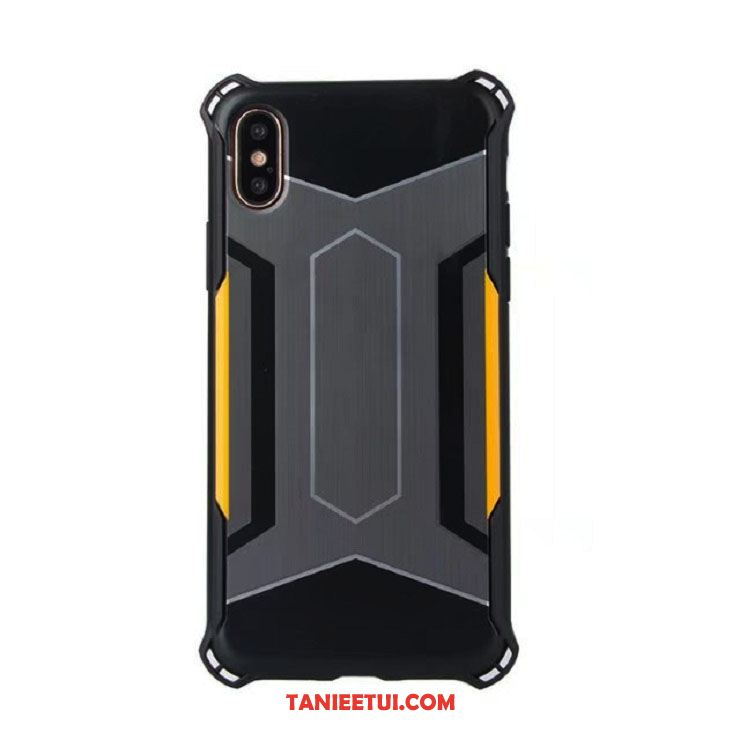 Etui iPhone X Anti-fall Czarny Technologia, Obudowa iPhone X Balon All Inclusive Kreatywne