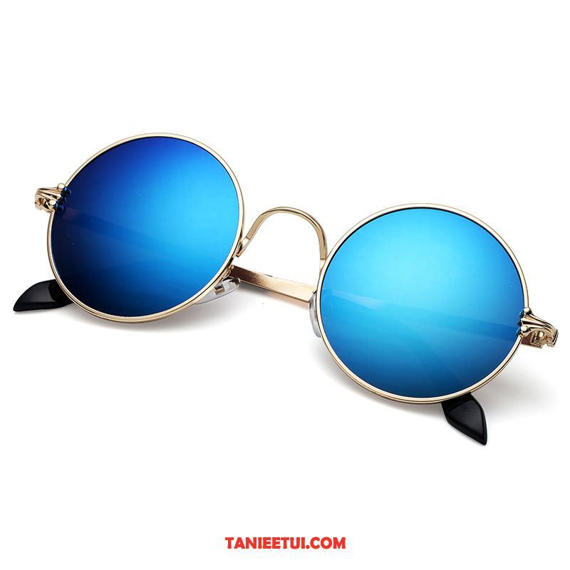 Męskie Okulary Przeciwsłoneczne Okrągła Damska Męska Vintage